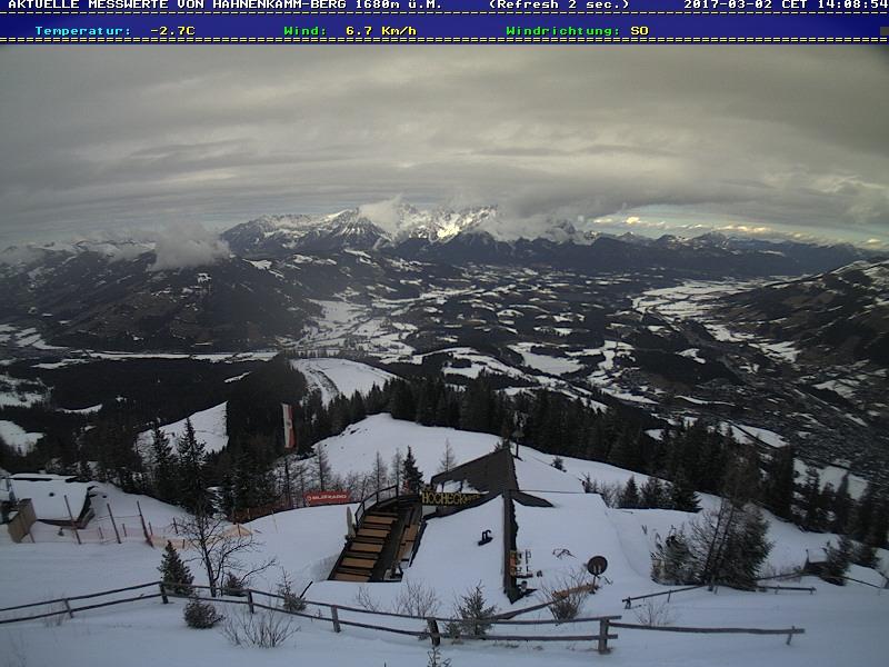 Webkamera Kitzbühel a Kirchberg