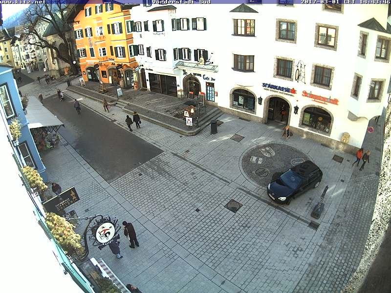 Kitzbühel Vorderstadt Élő Webkamera